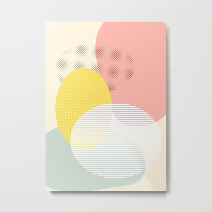 Lost In Shapes II #society6 #abstract Metal Print