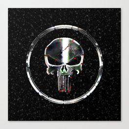 The Chrome Punisher Canvas Print