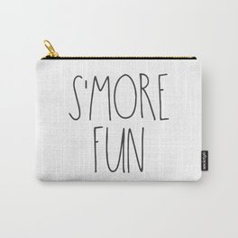 S'MORE FUN TEXT Carry-All Pouch
