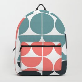 Mid Century Modern Geometric 03 Backpack