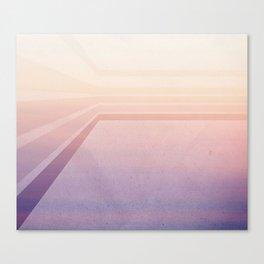 Horizontal flight Canvas Print