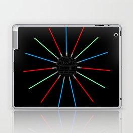 A Twinkling Deathstar 80's Style Laptop & iPad Skin