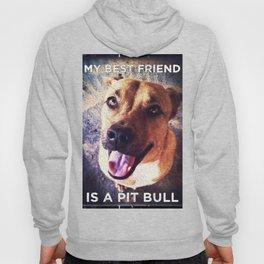 My Best Friend is a Pit Bull Hoody