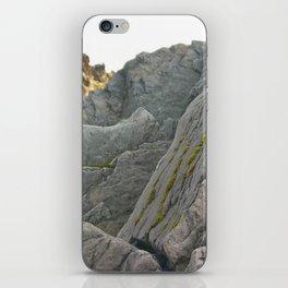 Sharp Rocks iPhone Skin