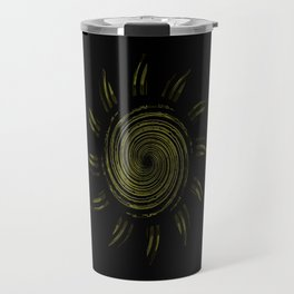 Steel Brass Sun Travel Mug