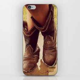 Cowboy Boots iPhone Skin