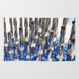 Drills for metal Rug