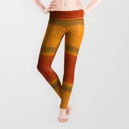 """Ethnic Pattern Warm Tones II"" Leggings"