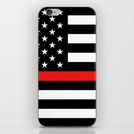 Firefighter: Black Flag & Red Line iPhone Skin