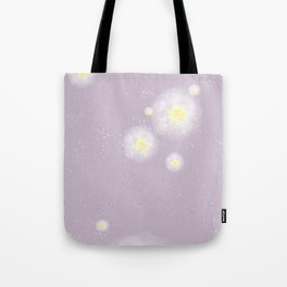 when winter meets spring Tote Bag