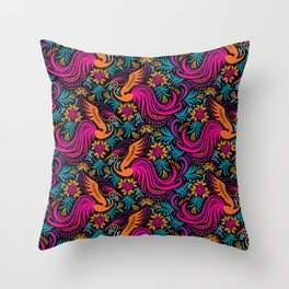 Firebird Throw Pillow