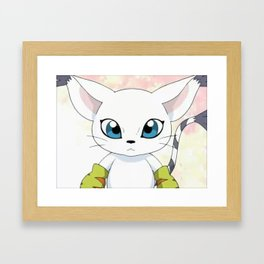 Tailmon Framed Art Print