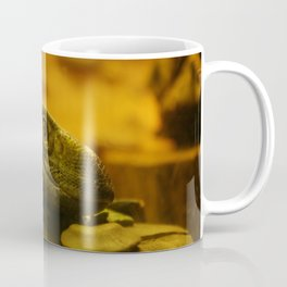 Lizard Up-Close Coffee Mug