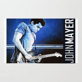 John Mayer Blues Rug