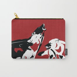 A Wolf's Bloodlust Carry-All Pouch