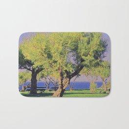 Tamarisk Trees Overlooking the Ocean Bath Mat