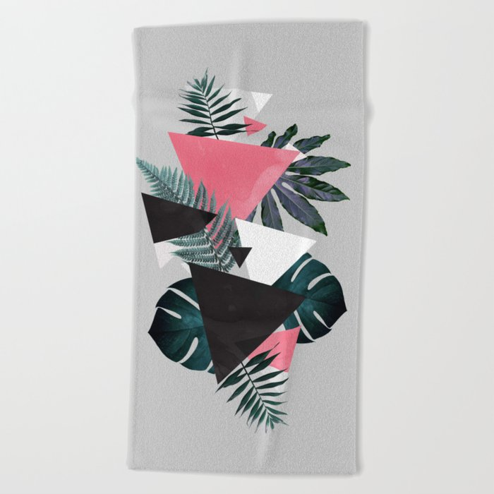 Greenery Balance Beach Towel