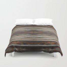 wood 2 Duvet Cover