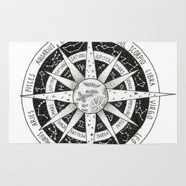 zodiac signs Rug