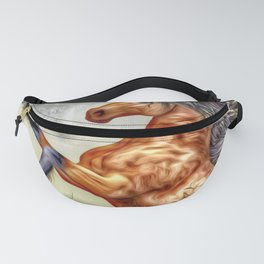 Painted Horse 3 Fanny Pack