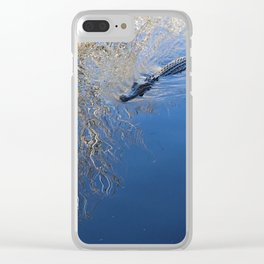 Just keep swimming Clear iPhone Case