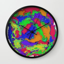 A gentle stir Wall Clock