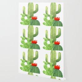 Perfect Cactus Bunch Wallpaper