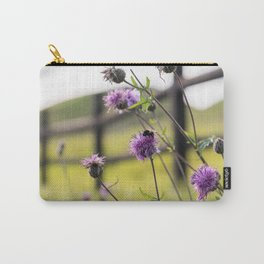 Bumblebee Flower Carry-All Pouch