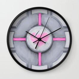 Companion Cube Wall Clock