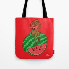 Ms Watermelon Tote Bag