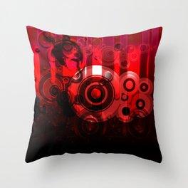 Rubidus Throw Pillow