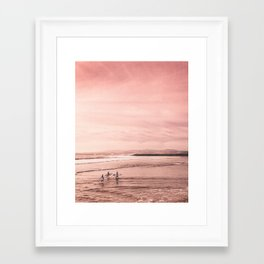 See You Tomorrow Framed Art Print
