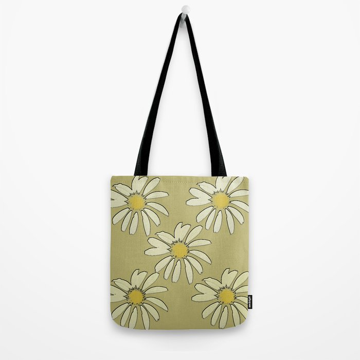 All About Daisies Tote Bag