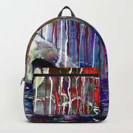 One-eyed Weeping Willow and Floating Robot Friend Backpack