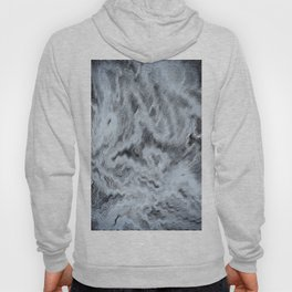Monet Style Blue abstract Hoody