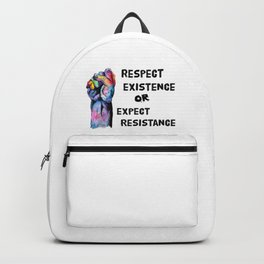Respect or Expect Backpack