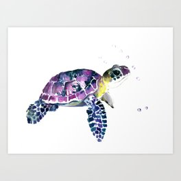 cute turtle art prints society6
