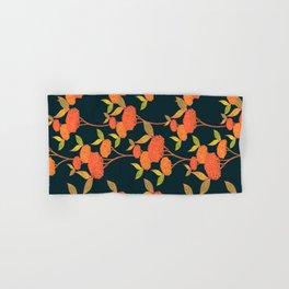 Orange autumn berries. Hand & Bath Towel