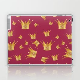 Golden crown Laptop & iPad Skin