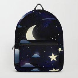 Crescent Moon Sky Backpack