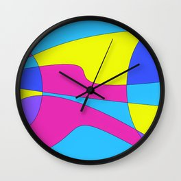 Colors in Sound Neon Wall Clock