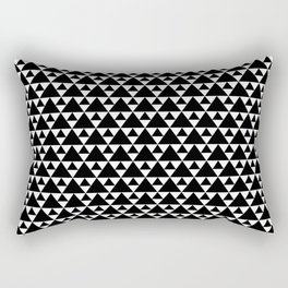 Black BLT Rectangular Pillow