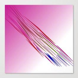wild lines tiger pink Canvas Print