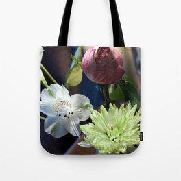 Trois Fleurs Tote Bag