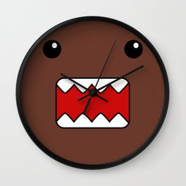 Domo Kun - Brown Japanese Monster Wall Clock