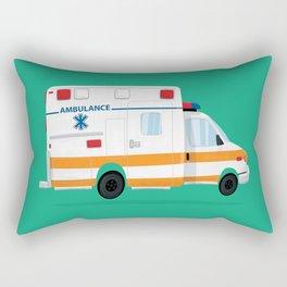 Cute Ambulance Rectangular Pillow