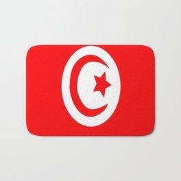 Flag of Tunisia Bath Mat