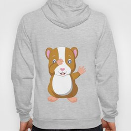 Hamster Dab Dabbing Rodents Wild Animals Domestic Pet Lovers Gifts Hoody