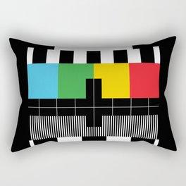 Test Pattern Rectangular Pillow