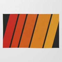 Retro 70s Stripes Rug
